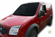 DFO15231 FORD TRANSIT CONNECT 2002-2013 WIND DEFLECTORS 2pc HEKO TINTED