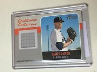 F51557 2019 Topps Heritage Clubhouse Jersey Relics James Paxton Mariners