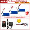 3pcs 2500mAh Battery+Charger Set For Syma X8W X8C X8G RC Quadcopter Banana Plug