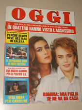 OGGI=1985/3=ROMINA POWER YLENIA CARRISI=VERICA PAVULLO=DONNA REED=RAPIDO 904=
