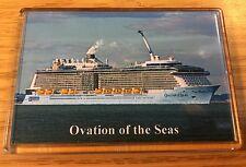 Royal Caribbean OVATION OF THE SEAS Large Fridge Magnet Cruise Ship HD Image