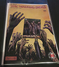 2017 THE WALKING DEAD #163 CONQUERED & FREE WALKERS  W8 TOPPS ZOMBIE INSERT CARD