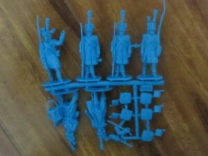 1/32 54mm Napoleonic French Infantry Command  Toy Soldiers x 18