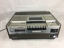 Sony SL-8600 Beta Betamax X2 Video cassette Recorder VCR see condition TESTED