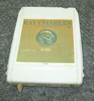 60's 4-Track A Man and His Soul Part Two RAY CHARLES F-33-590XB Cartridge Tape