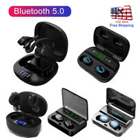 Bluetooth 5.0 in Ear Headset Wireless Earphones TWS Earbuds Deep Bass Headphones