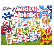 GIANT 30 PIECE CHILDRENS KIDS MUSICAL SING-A-LONG ALPHABET JIGSAW PUZZLE 120422