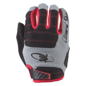 Lizard Skins Cycling Unisex Adult Gloves Monitor HD - Crimson/Black - XL