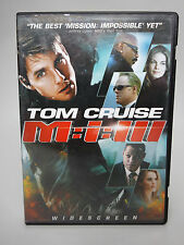 Mission: Impossible III (DVD, 2006, Single Disc; Widescreen)