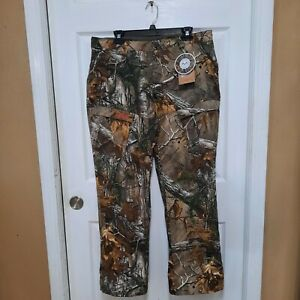 Magellan Outdoors Women's Camo Hill Country Twill Hunting Pants Size Lg Realtree