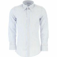 D&G DOLCE & GABBANA Mens Stripe Shirt Formal RRP £85