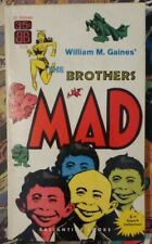 1950's MAD Magazine Paperback Book - The Brothers MAD - 1st Printing