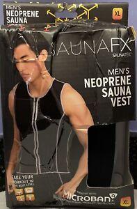 Saunatek Sauna FX Men's Neoprene Sauna Vest XL BRAND NEW SaunaFX