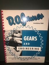 D.O. James Gears And Engineering Catalog.145 pgs.
