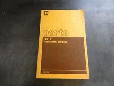 Caterpillar CAT 3512 Industrial Engine Parts Manual    SEBP1319