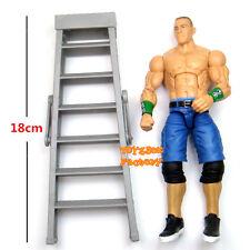 WWE Elite John Cena & Ladder Wrestling Action Figure Kid Child Toy Never Give Up