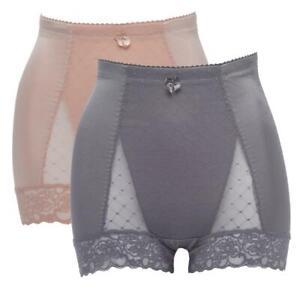 Rhonda Shear Dot Lace Pin Up Panty 2-pack 616814-J