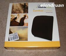 Brand NEW Tempur Pedic Lumbar Cushion Support Mid and Lower Back