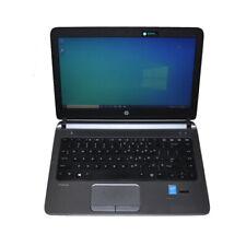 "HP Probook 430 G2 13.3""  Laptop Intel i3-4030U CPU 8G RAM 320G HDD Win 10 Pro"