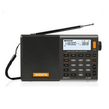 XHDATA D-808 Portable Digital FM Stereo/SW/MW/LW SSB RDS Air Band Multi Speaker