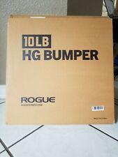 ROGUE HG 2.0 BUMPER PLATES 2 Plates of 10 lb = 20 lb. Brand New* ⚡FAST SHIPPING⚡