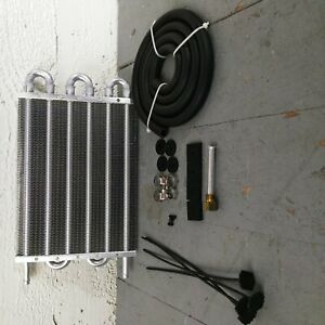 """1960-66 Chevy Truck 8-Row 15"""" Transmission Trans Oil Cooler c20 pickup 305 gmc"""