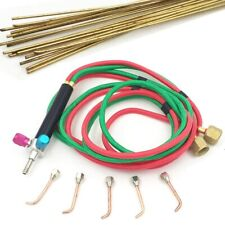 The Little Smith Welding Gas Torch With 5 Tips And Flexible Twin Hose For Oxygen