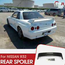 For NISSAN SKYLINE R32 GTR Carbon Fiber OE Style Rear Spoiler wing Exterior kits
