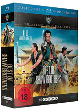 10 MOVIES BEST OF Shaw Brothers The Yellow Drachen Shaolin Eastern Blu-ray Box