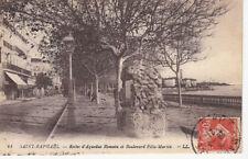 SAINT-RAPHAËL 41 LL restes d'aqueduc romain boulevard Félix-Martin timbrée 1921