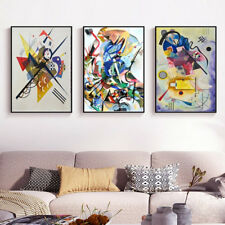 3 Piece Canvas Prints Set - Wassily Kandinsky Digital Paintings Art - (Unframed)