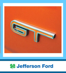 Genuine Ford GT Boot & Grill Badge FPV BF FG 2005-2014