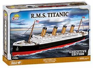 COBI R.M.S Titanic 1:450 Executive Edition - Model Building Block Set # 1928