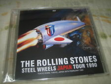 The Rolling Stones Steel Wheels Japan Tour (February 26 1990) rare 2DVD