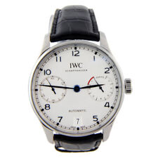 IWC Portuguese 7 Day Automatic Stainless Steel White IW500705 IW5007-05