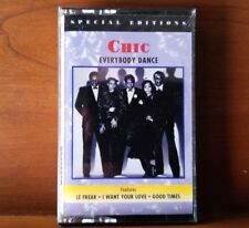 Chic Everybody Dance cassette Le Freak Good Times sealed mint 1995 Rhino R471851