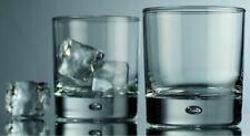 Galaxy Whiskey Drinking Glasses 4pc Rocks Set 10 oz, Lead Free Crystal Drinkware