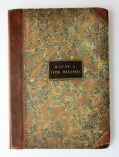 1808? Irish Melodies Thomas Moore 1st set J Power Antique Music Sheets Stevenson