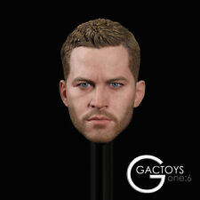GACTOYS GC028 1/6 Paul Walker Head Carving 12'' Male Head Sculpt Head Model