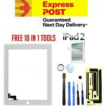 For Apple iPad 2 White Digitizer Front Glass Touch Screen Replacement Screen