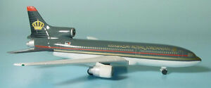 Herpa Wings 1:500 Royal Jordanian Lockheed L-1011 Tristar id 504850 releasd 2000