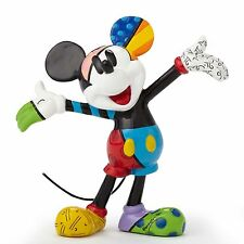 ROMERO BRITTO DISNEY MINI MICKEY MOUSE FIGURINE ** NEW ** GIFT WINDOW BOXED **