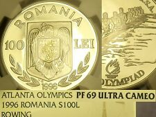 Romania 1996 100 Lei NGC Proof 69 Ultra Cameo~Highest graded~10k Minted~Fr/Ship