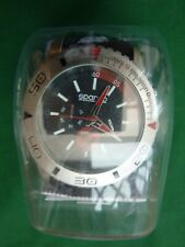 SPARCO WRISTWATCH  BLACK AND RED DIAL