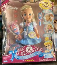 Cinderella Sing And Style Disney Doll