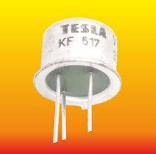 KF517 LOT OF 5 TESLA SILICON PNP TRANSISTOR 0.8 W 0.6 A NI
