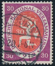 DR 1919, MiNr. 110 C I, timbrato, Gepr. DR. oechsner, mer 200,-.