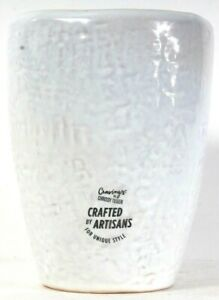 """1 Count Cravings By Chrissy Teigen Artisans Crafted 6.75"""" Stoneware Tools Crock"""