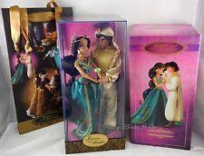 Disney Jasmine & Aladdin Fairytale Designer Couple Collection Doll LE# 1537/6000