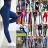 Sports Womens Yoga Leggings Fitness Gym Exercise Running Jogging Pants Trousers